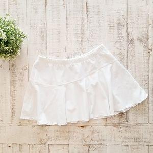 Nike Dri Fit White Skirt